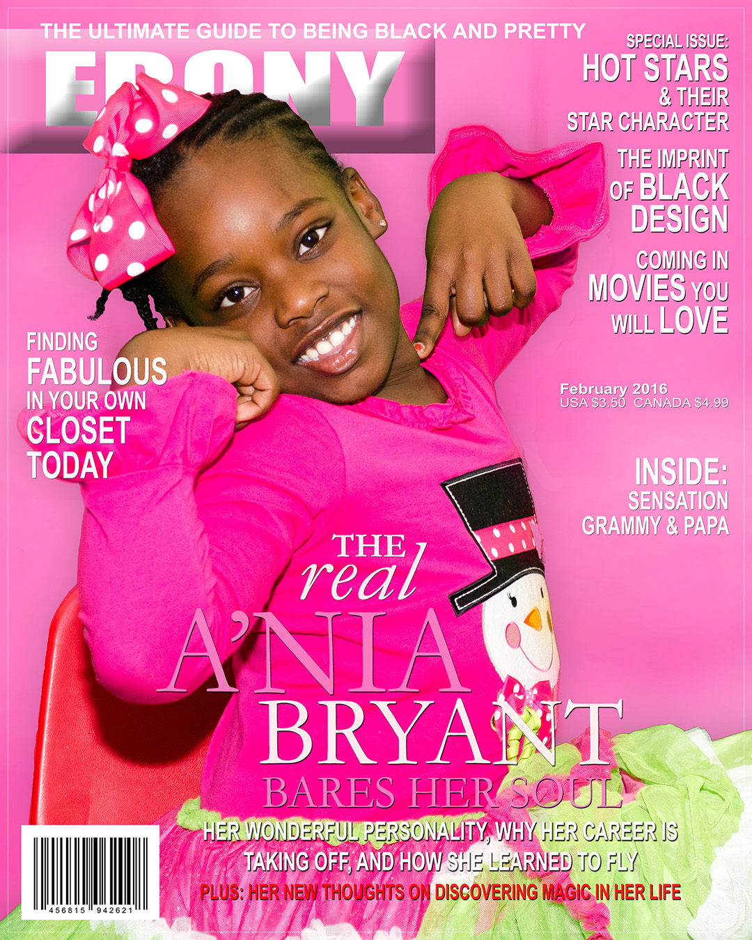 Magazine Photo Design